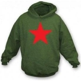 Red Star (As worn by Michael Stipe of R.E.M.) Hooded Sweatshirt
