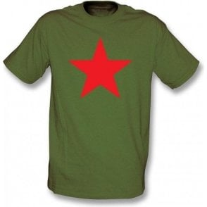 Red Star (As Worn By Michael Stipe, R.E.M.) T-Shirt