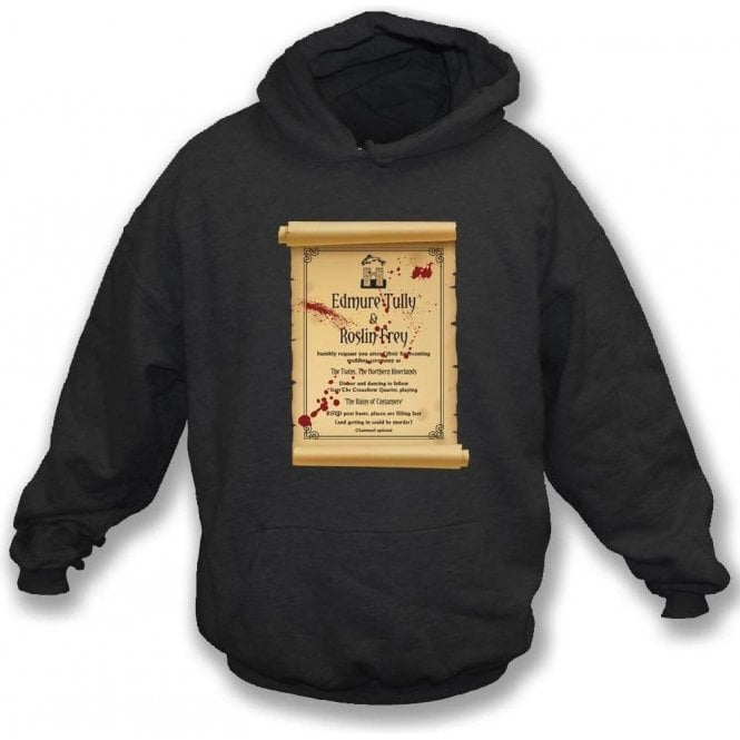 Red Wedding Invitation (Game of Thrones) Hooded Sweatshirt
