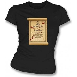 Red Wedding Invitation (Game of Thrones) Womens Slim Fit T-Shirt