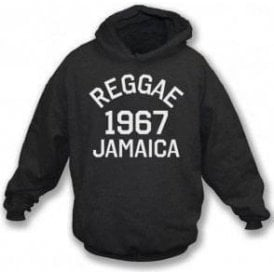 Reggae 1967 Jamaica Hooded Sweatshirt