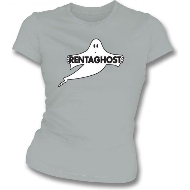 Rentaghost Womens Slim Fit T-Shirt