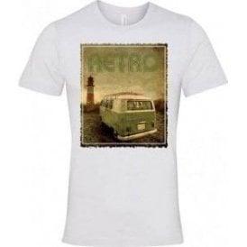 Retro Camper Semi-Fitted T-Shirt