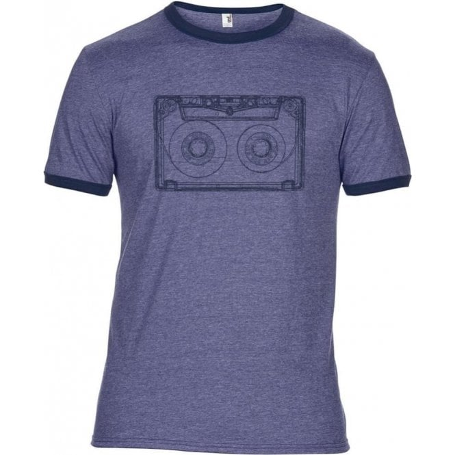 Retro Cassette Semi-Fitted T-Shirt