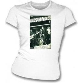 Ripped & Torn August Fanzine Womens Slim Fit T-Shirt