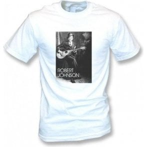 Robert Johnson Blues Legend Vintage Wash T-Shirt