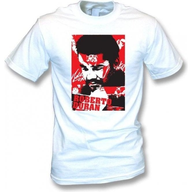 Roberto Duran Champion Collage (Boxing) T-shirt