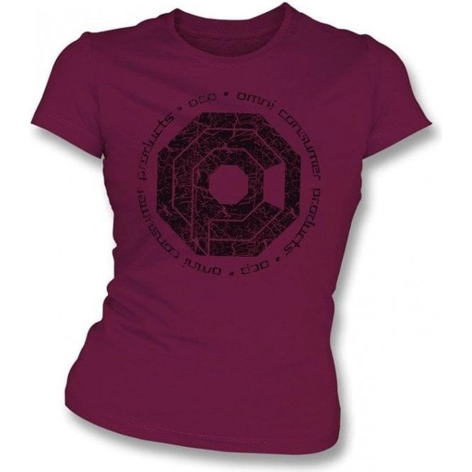 Robocop - Omni Consumer Products Womens Slim Fit T-Shirt