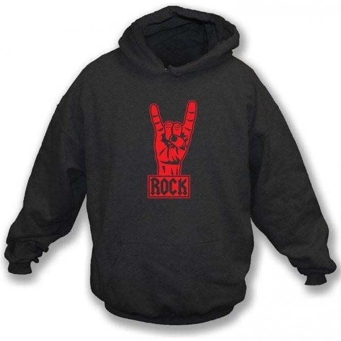 Rock Metal Black Hooded sweatshirt