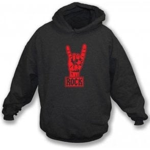 Rock Metal Black Hooded sweatshirt