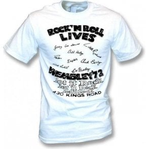 Rock 'n Roll Lives (Seditionaries) T-shirt