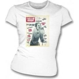Rock 'n' Roll Musique (Johnny Rotten) Womens Slim Fit T-Shirt