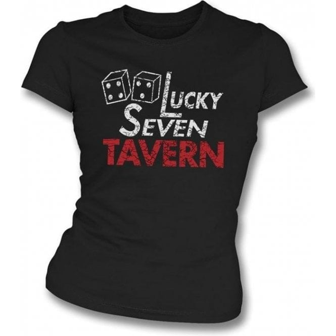 Rocky - Lucky Seven Tavern Girl's Slim-Fit T-shirt