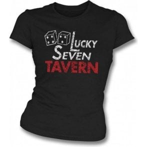 Rocky - Lucky Seven Tavern Girl's Slim-Fit T-shirt
