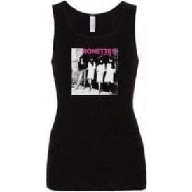 Ramones/Ronettes Rocket To Russia Womens Baby Rib Tank Top