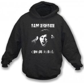 Sam Kinison Comedy Rebel Hooded Sweatshirt