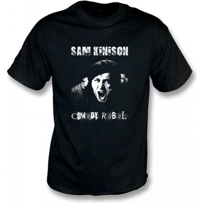 Sam Kinison Comedy Rebel T-shirt