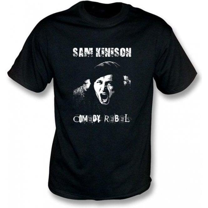 Sam Kinison Comedy Rebel T-shirt