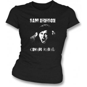 Sam Kinison Comedy Rebel Womens Slimfit T-shirt