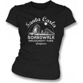 Santa Carla Amusement Park (Inspired by The Lost Boys) Girl's Slim-Fit T-shirt