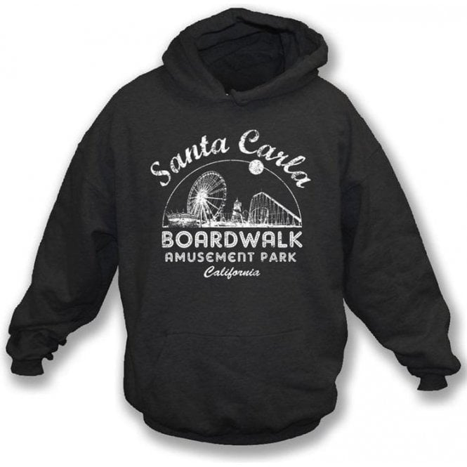 Santa Carla Amusement Park (Inspired by The Lost Boys) Hooded Sweatshirt