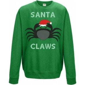 Santa Claws (Crab) Sweatshirt