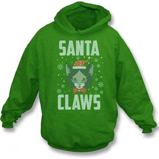 Santa Claws Kids Hooded Sweatshirt