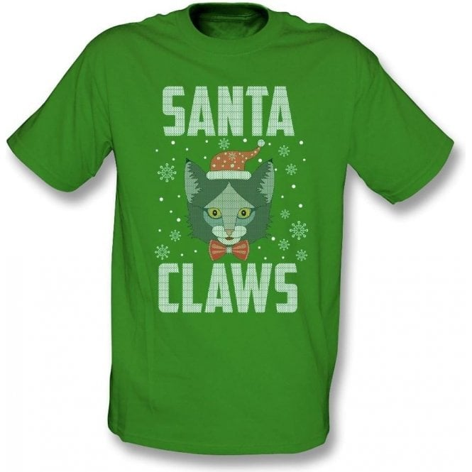 Santa Claws Kids T-Shirt