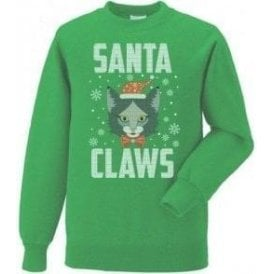 Santa Claws Christmas Jumper