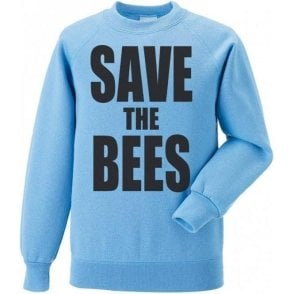 Save The Bees Kids Sweatshirt
