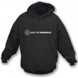 Save The Manuals Kids Hooded Sweatshirt