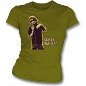 Scott Walker Girl's Slim-Fit T-shirt