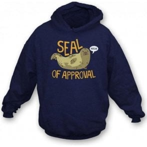 Seal Of Approval Kids Hooded Sweatshirt