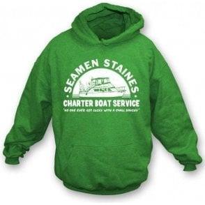 Seamen Staines Charter Boat Service Hooded Sweatshirt