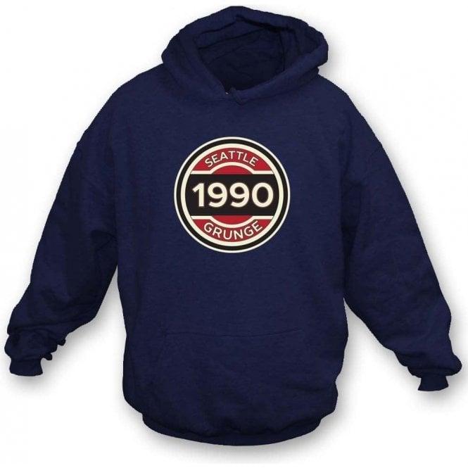 Seattle Grunge Hooded Sweatshirt