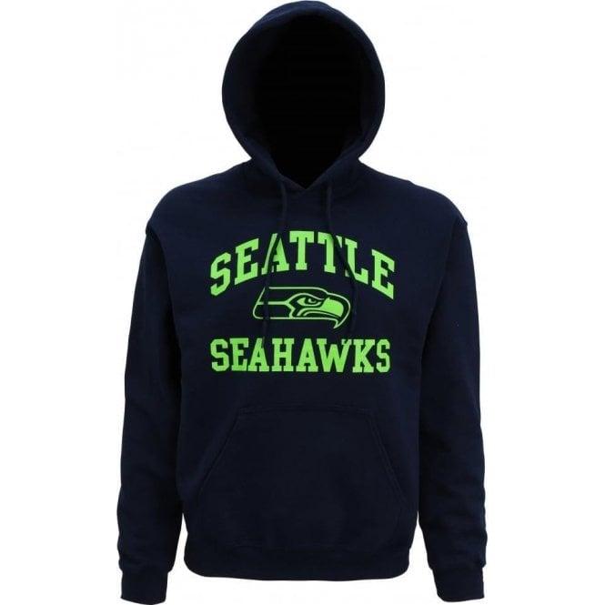 Seattle Seahawks Large Logo Hooded Sweatshirt