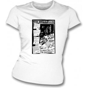 Sex Pistols Never Mind The Bans Women's Slimfit T-shirt
