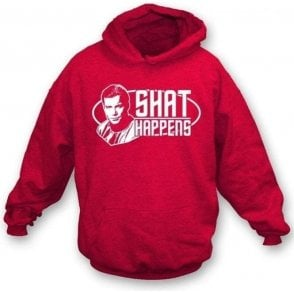 Shat Happens (Star Trek) Hooded Sweatshirt