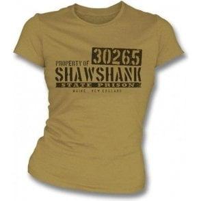 Shawshank Redemption Prison Girl's Slim-Fit T-shirt
