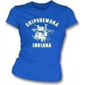 Shipshewana (As Worn By Nathan Followill, Kings Of Leon) Womens Slim Fit T-Shirt