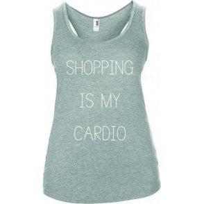 Shopping Is My Cardio Women's Tank Top