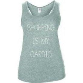 Shopping Is My Cardio Women's Tank Top