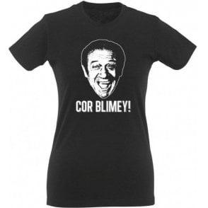 "Sid James ""Cor Blimey!"" Womens Slim Fit T-Shirt"