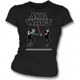 Ska Wars Womens Slim Fit T-Shirt