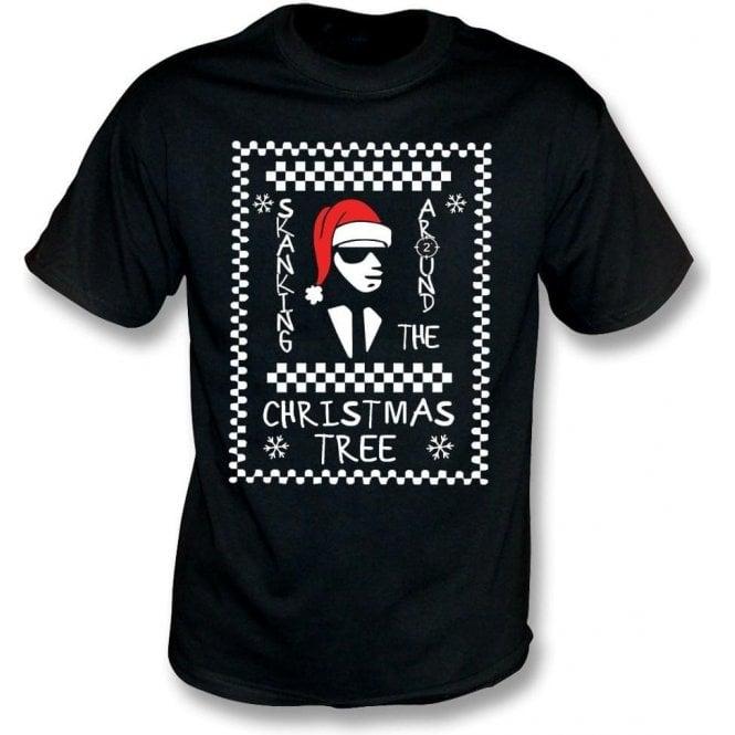 Skanking Around The Christmas Tree Kids T-Shirt