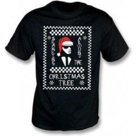 Skanking Around The Christmas Tree Kids T-Shirt