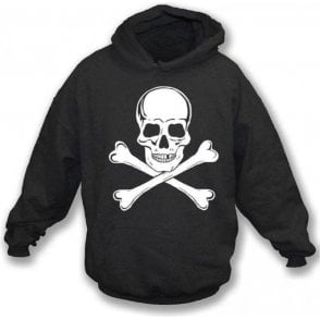 Skull and Crossbones as worn by Paul Simonon (The Clash) Hooded Sweatshirt