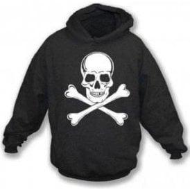 Skull and Crossbones as worn by Paul Simonon (The Clash) Hooded Sweatshirt