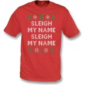 Sleigh My Name (Inspired By Destiny's Child) Kids T-Shirt