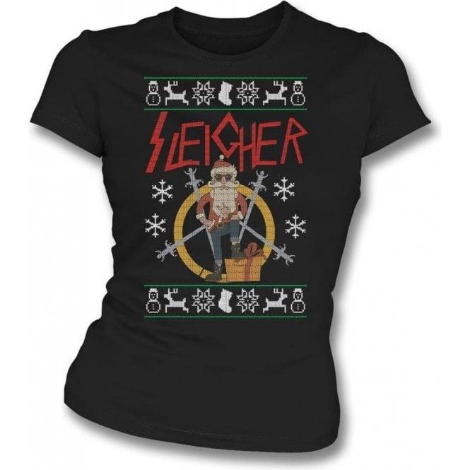 Sleigher Womens Slim Fit T-Shirt